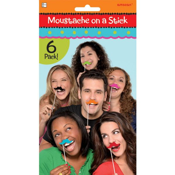 Fiesta Moustache on a Stick